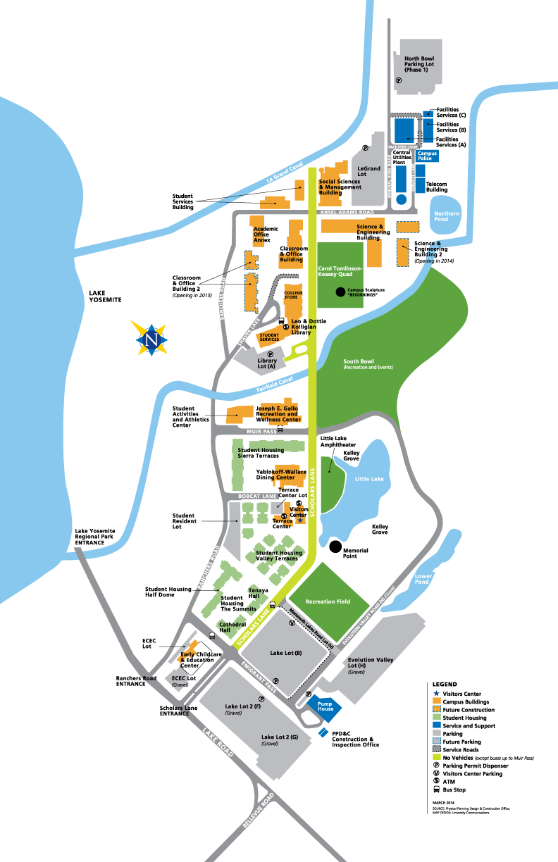 Campus Map Facilities Management